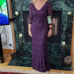 Blu Sage Evening Gown